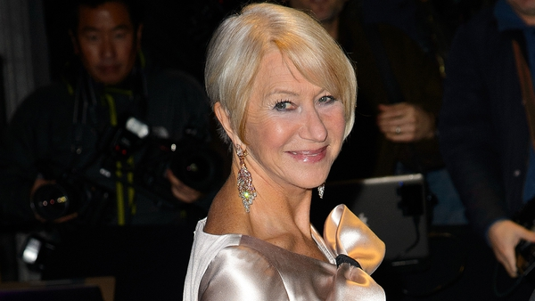 Helen Mirren wins Best Actress at the London Evening Standard Theatre Awards