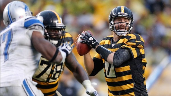 Ben Roethlisberger threw four touchdowns for the Pittsburgh Steelers
