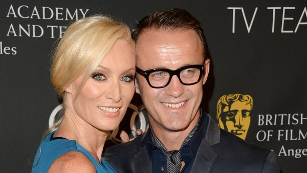 Victoria Smurfit and husband Douglas Baxter