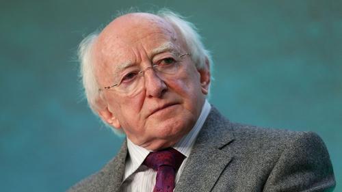 President Michael D Higgins said that Ireland's gender pay gap is increasing
