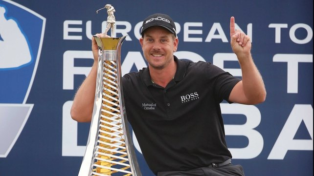 Henrik Stenson claimed an historic double, winning the Race to Dubai and FedEx Cup