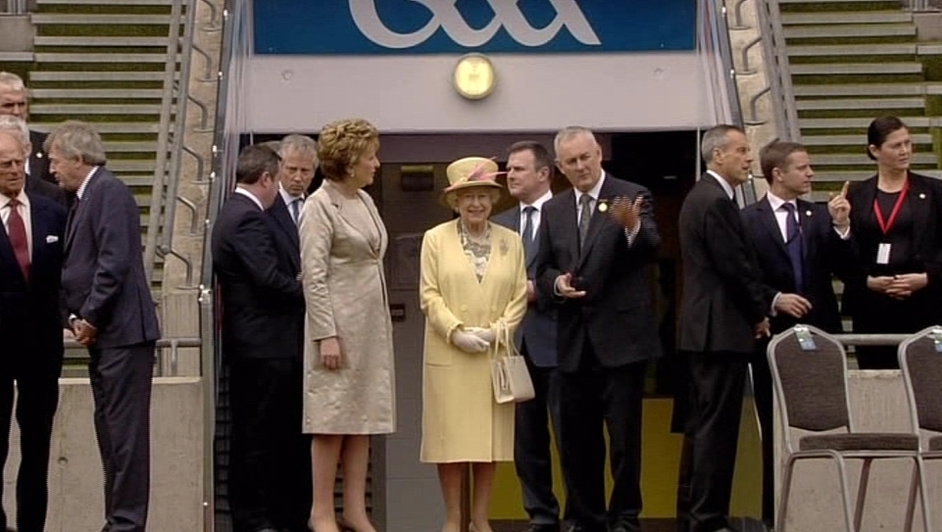 Tánaiste Eamon Gilmore said the Queen's visit to Croke Park laid 'to rest' a chapter in Ireland's history