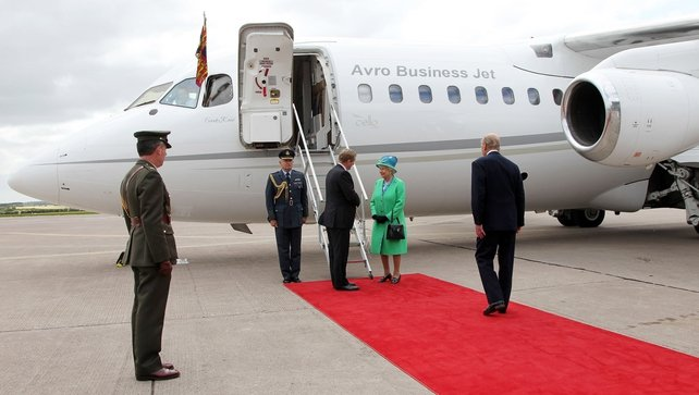 In May 2011 the British Queen arrived in Ireland for a three-day State visit
