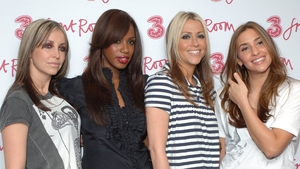 The reforming of All Saints is helping to ease Nicole Appleton's (second right) heartache
