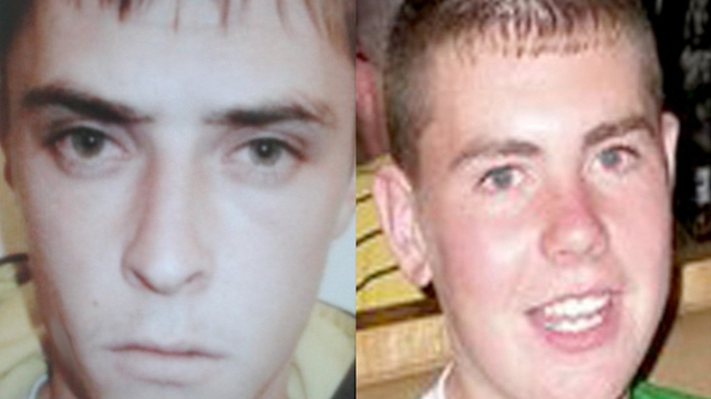 Patrick McCann (l) shot his friend Luke Wilson (r) three times