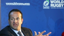 Minister Leo Varadkar outlines the plans for Ireland's Rugby World Cup bid.