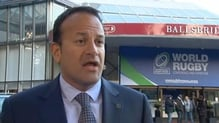 Minister Leo Varadkar says Ireland is well placed to host the Rugby World Cup