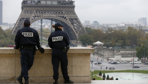 French police said the planned treasure hunt contravened the law