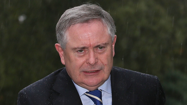 Brendan Howlin said performance-related pay would not return until at least 2016