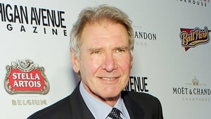 Harrison Ford fractured a bone in his leg when part of the Millennium Falcon fell on him