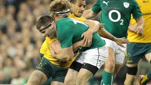 Australia will face Ireland in the Aviva Stadium on 22 November