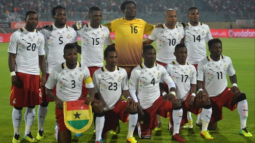 Ghana reached the quarter-finals stage at the last World Cup