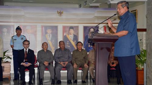Susilo Bambang Yudhoyono said it was a step Indonesia must take