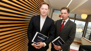 Dermot Smurfit, CEO of GameAccount Network and Desmond Glass, the company's CFO