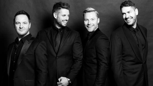 Listen to a pre-stream of Boyzone's BZ20