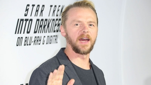 """Simon Pegg: """"In fact we start shooting in Vancouver in four weeks"""""""