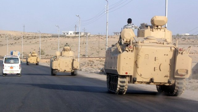 Militants have stepped up assaults in the region following the army's ousting of president Mohammed Mursi