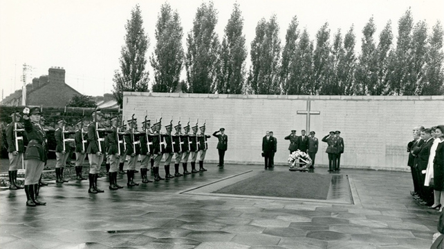President Kennedy said the drill at Arbour Hill had been the highlight of his Irish trip (Pic: Brigadier General Colclough through the Irish Military Archives)