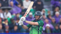William Porterfield gives his reaction to becoming the first Irish T20 centurion following his 127 against USA