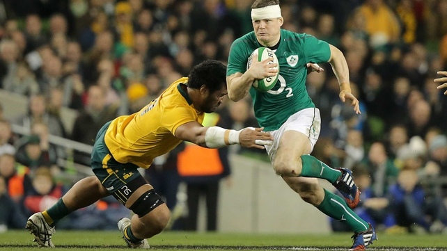 Brian O'Driscoll: 'We were poor against Australia and that level isn't acceptable'