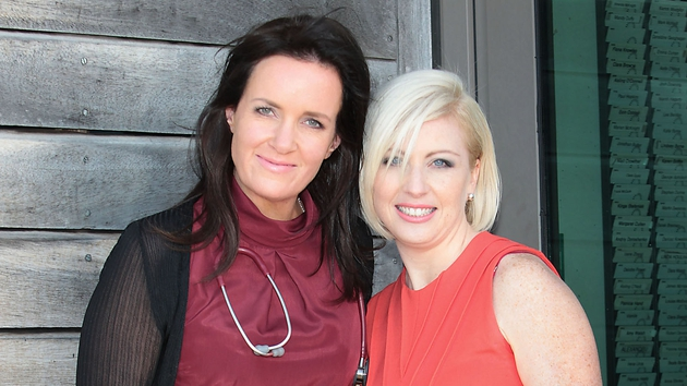 New additions Dr. Ciara Kelly and dietician Aoife Hearne