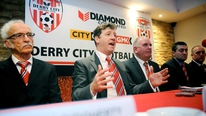 Listen to the former Derry manager's explosive post-match rant and subsequent local media reaction