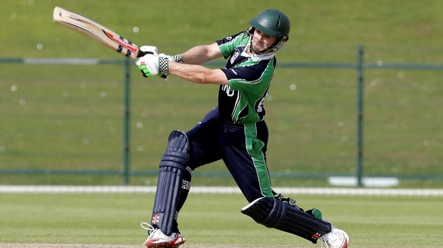 William Porterfield scored 127 runs off 69 balls