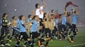 Uruguay book World Cup ticket to Brazil