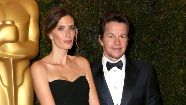 Rhea Durham with hubby Mark Wahlberg at the recent Oscars Governors Awards
