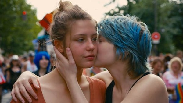 Léa Seydoux and Adèle Exarchopoulos in Blue Is The Warmest Colour