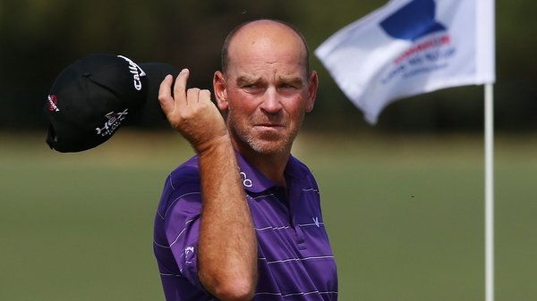 Thomas Bjorn carded five-under-par round of 66