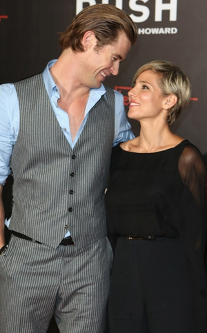 Chris Hemsworth and wife Elsa are expecting a baby.