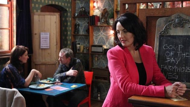 Yvonne is surprised by Dan and Carol's meeting