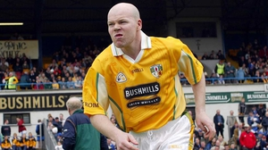 Anto Finnegan played 11 years for Antrim