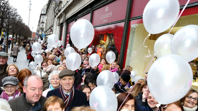 Hundreds turned out for the official reopening