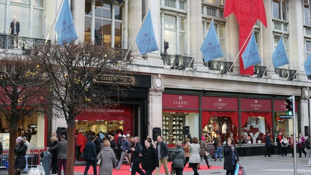 Clerys is now owned by OCS Operations