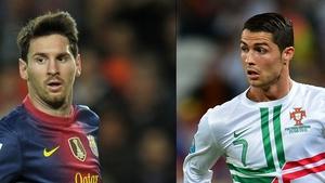 Messi full of praise for Ronaldo's exploits