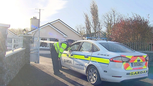 An armed gang broke into the house of a businessman