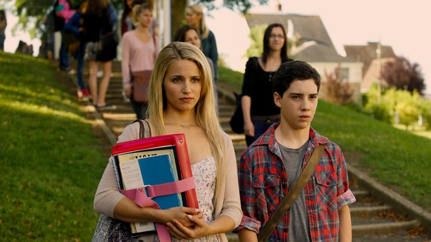 Dianna Argon and John D'Leo in The Family