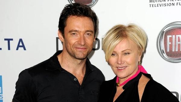 Hugh Jackman and wife Deborra-Lee Furness