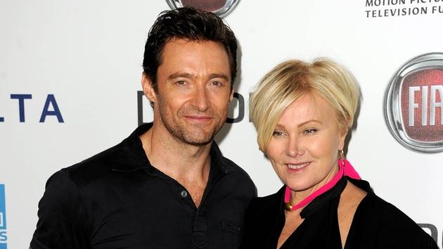 Hugh Jackman and his wife Deborra-Lee Furness