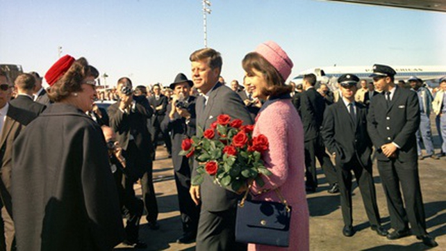 John F Kennedy arrives in Dallas with his wife Jacqueline (Pic: Cecil Stoughton, White House Photographs, John F Kennedy Presidential Library and Museum, Boston)