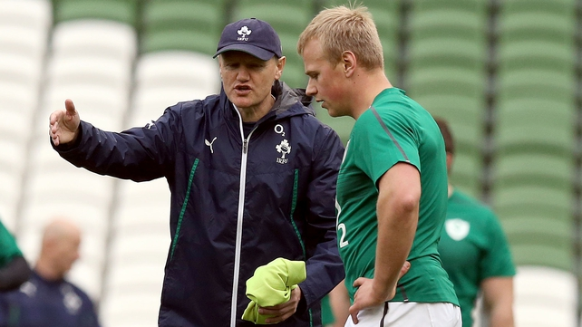 Joe Schmidt and Luke Marshall