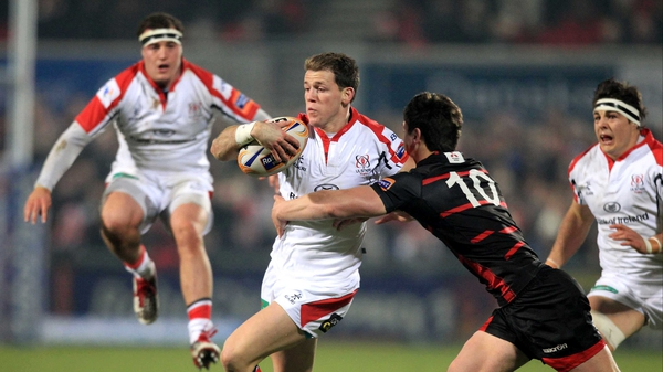 Craig Gilroy bagged a brace of tries at Ravenhill