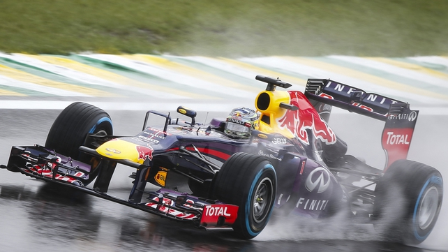 Sebastian Vettel heads the grid again in last race of season