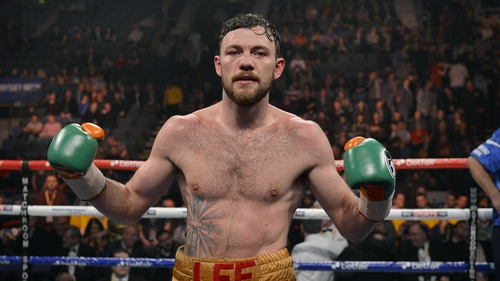 Andy Lee made light work of Ferenc Hafner