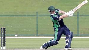 Paul Stirling batting for Ireland