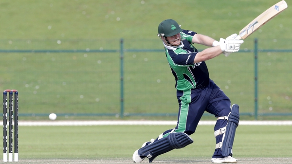 Paul Stirling batting for Ireland