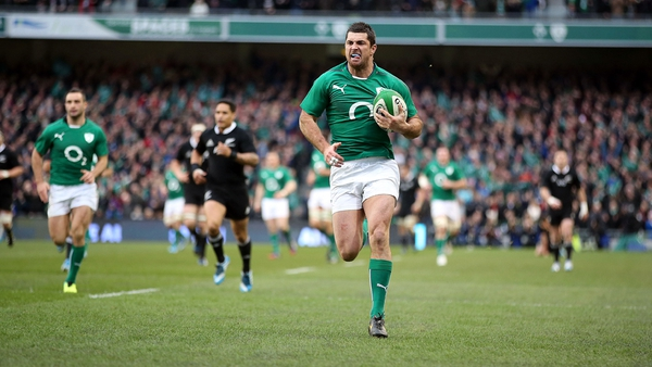 Ireland will play three of their games on Sundays at 1700