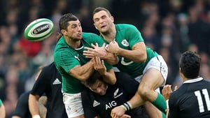 November's narrow loss to New Zealand saw Rob and Dave Kearney start an international together for the first time